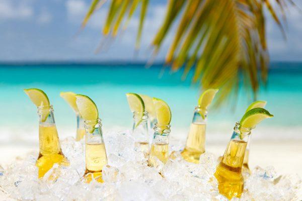 alcohol and scuba