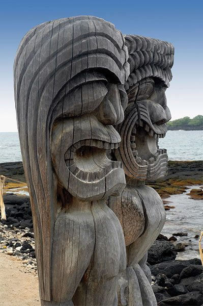 Hawaiian Sculptures