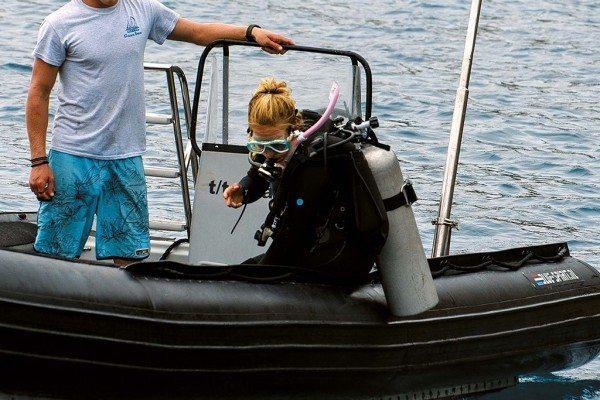 Scuba Diving | Backroll