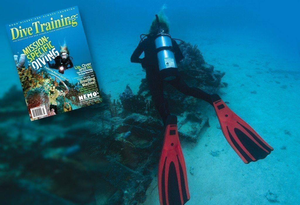March/April Dive Training Cover