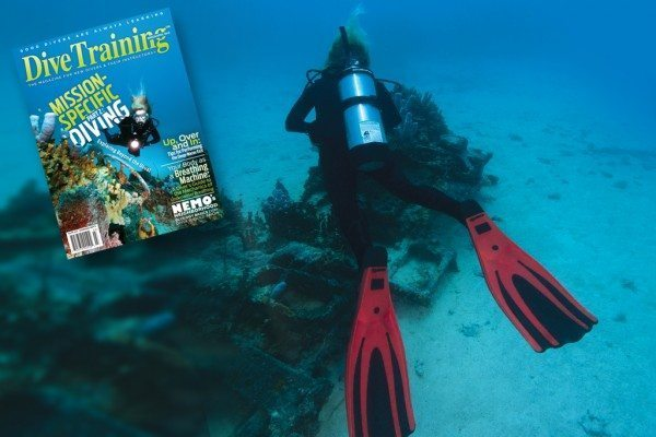 Scuba Diving | March/April Dive Training Cover