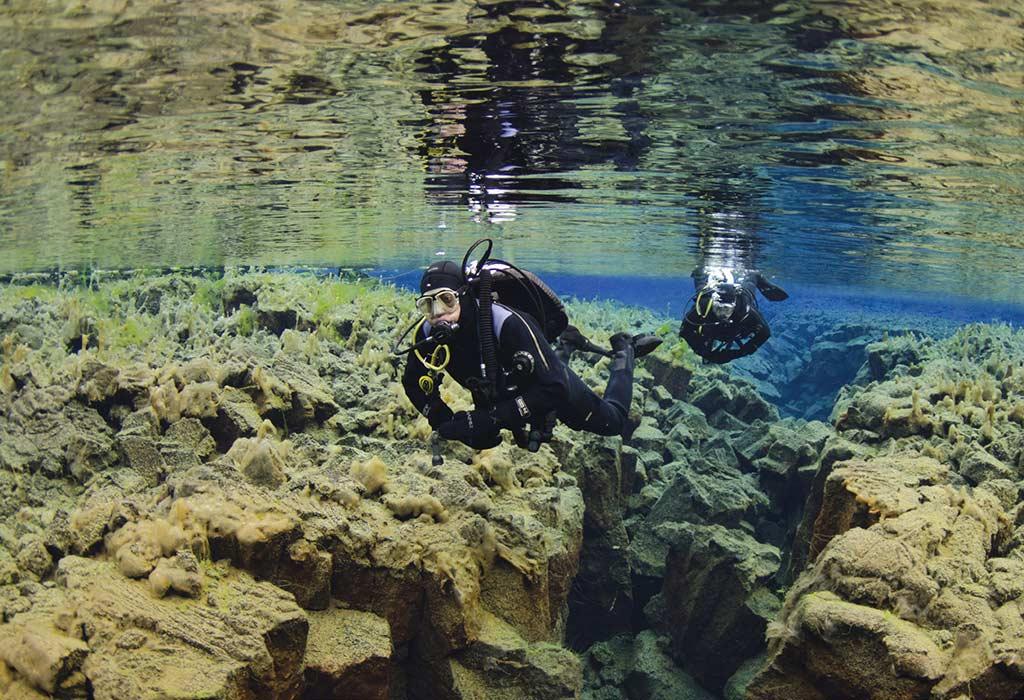 Slifra Crack diving