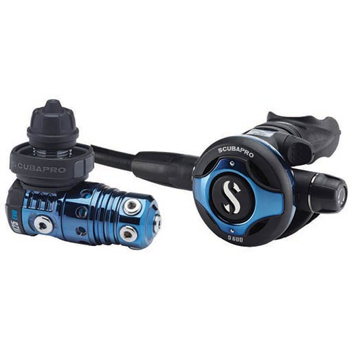 Scuba Diving | Scubapro MK25/S600 Deep Blue Titanium Core