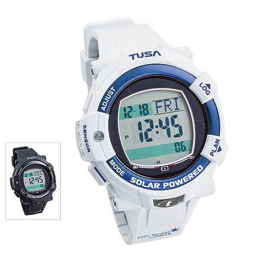 Scuba Diving | TUSA's IQ1204 DC Solar LINK Dive Computer