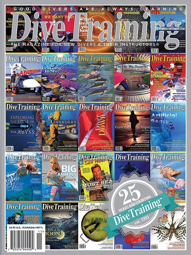 Celebrating 25 years scuba diving news gear education - Dive training magazine ...