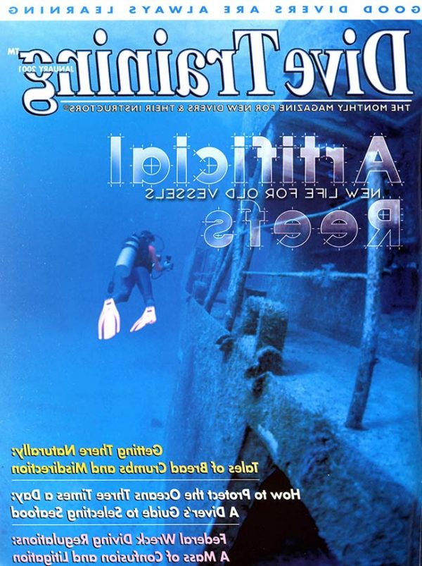 Scuba Diving | Dive Training Magazine, January 2001