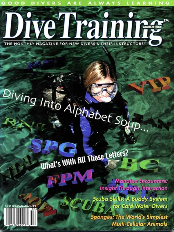 Scuba Diving | Dive Training Magazine, March 2001