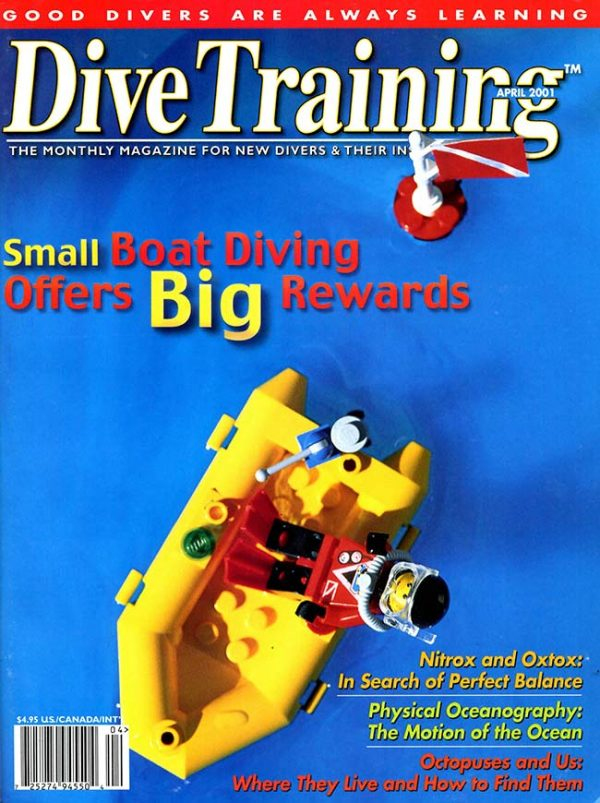 Scuba Diving | Dive Training Magazine, April 2001