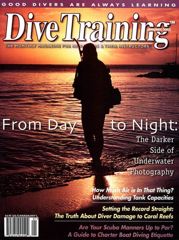 Scuba Diving | Dive Training Magazine, January 2002