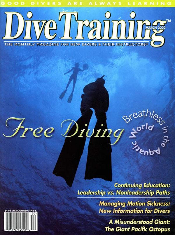 Scuba Diving | Dive Training Magazine, March 2002