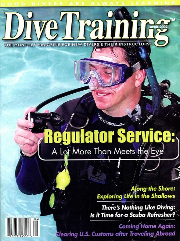 Scuba Diving | Dive Training Magazine, April 2002