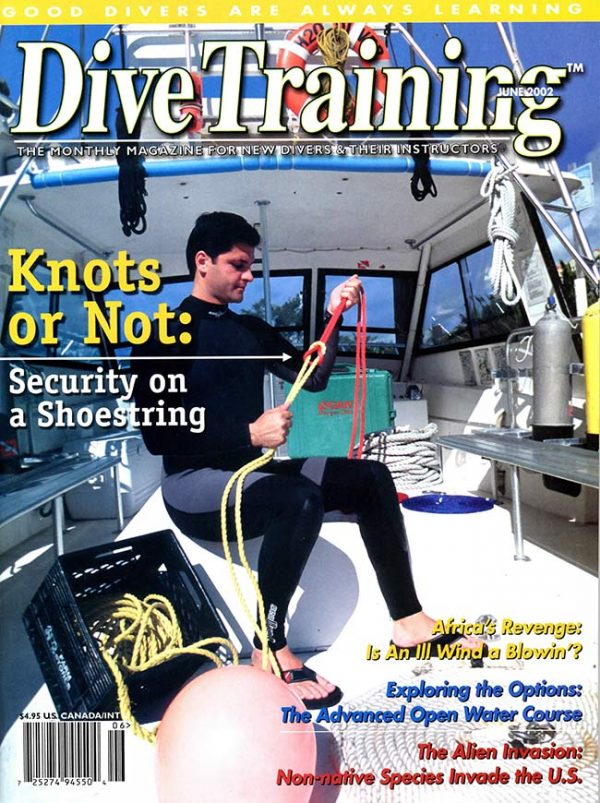 Scuba Diving | Dive Training Magazine, June 2002