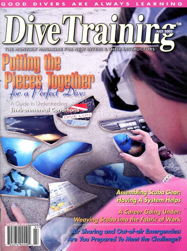 Scuba Diving | Dive Training Magazine, July 2002