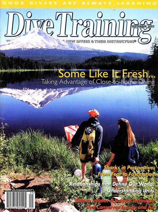 Scuba Diving | Dive Training Magazine, September 2002