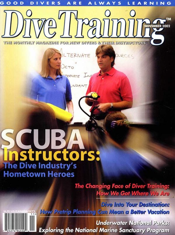 Scuba Diving | Dive Training Magazine, November 2002