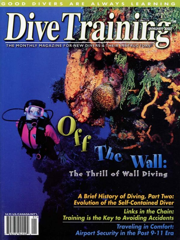 Scuba Diving | Dive Training Magazine, January 2003