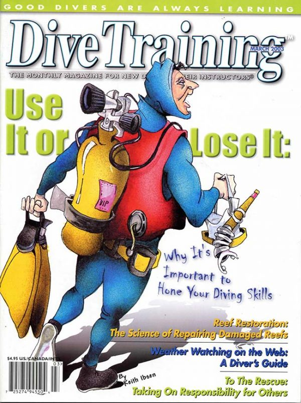 Scuba Diving | Dive Training Magazine, March 2003