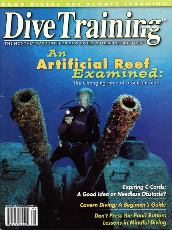 Scuba Diving | Dive Training Magazine, April 2003