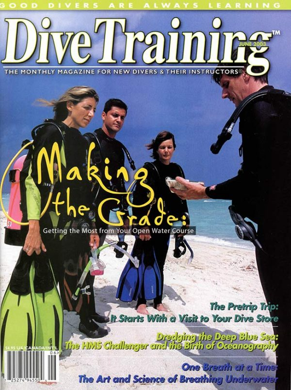 Scuba Diving | Dive Training Magazine, June 2003