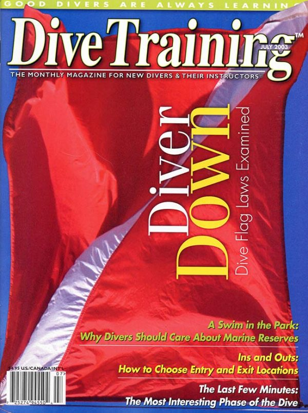 Scuba Diving | Dive Training Magazine, July 2003
