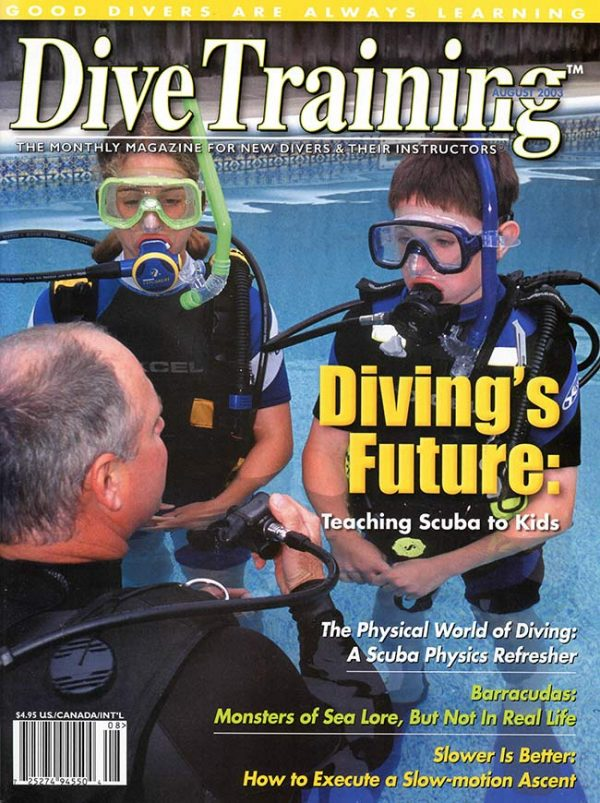 Scuba Diving | Dive Training Magazine, August 2003