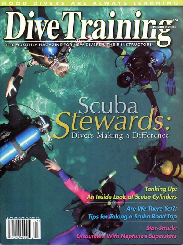 Scuba Diving | Dive Training Magazine, September 2003