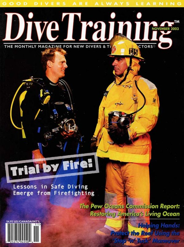 Scuba Diving | Dive Training Magazine, November 2003
