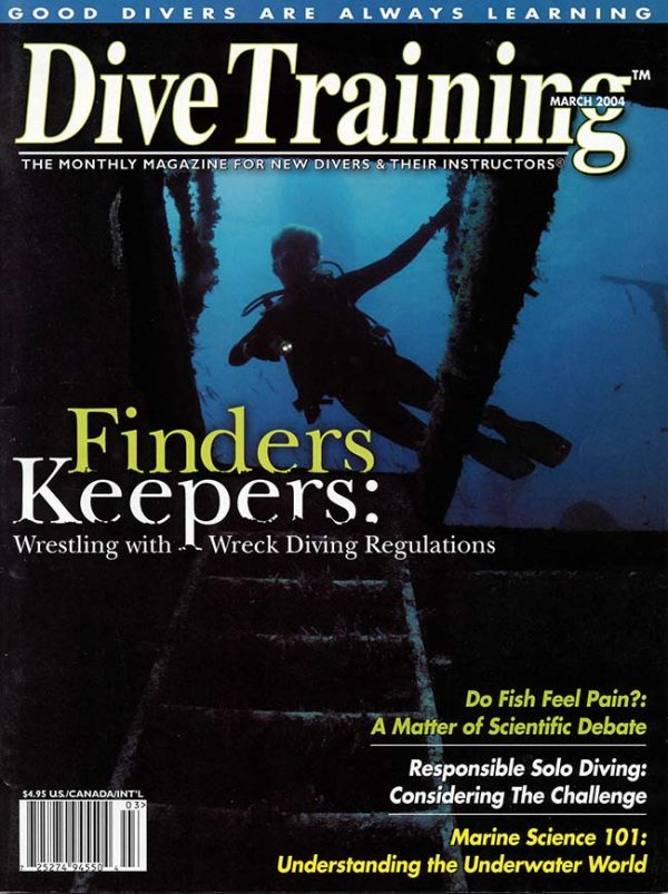 Scuba Diving | Dive Training Magazine, March 2004
