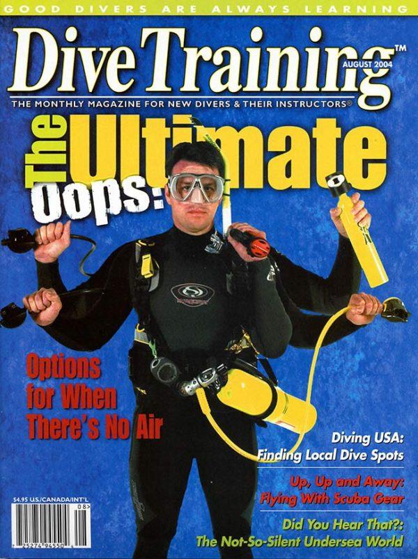 Scuba Diving | Dive Training Magazine, August 2004