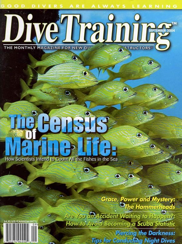 Scuba Diving | Dive Training Magazine, September 2004