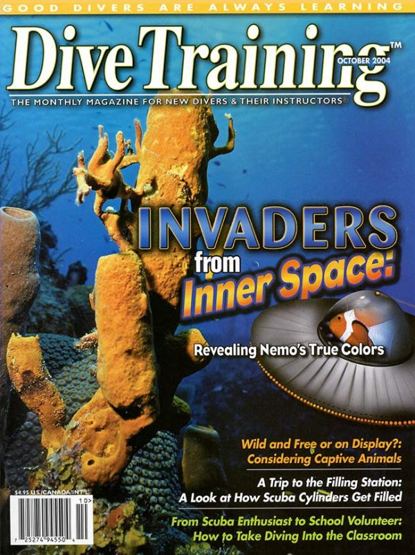 Scuba Diving | Dive Training Magazine, October 2004