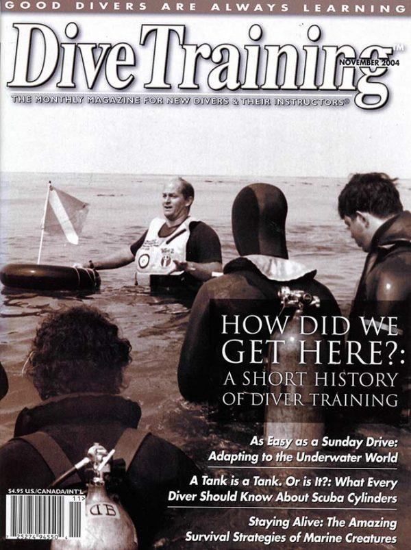 Scuba Diving | Dive Training Magazine, November 2004