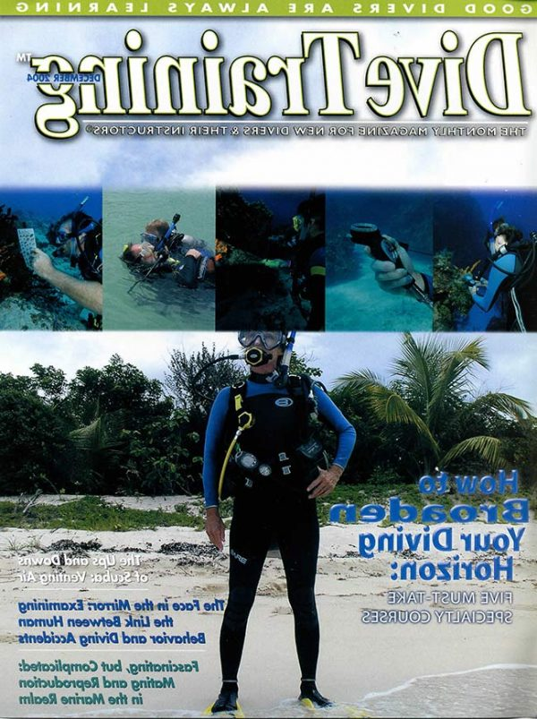 Scuba Diving | Dive Training Magazine, December 2004