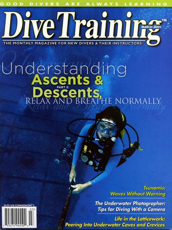 Scuba Diving | Dive Training Magazine, March 2005