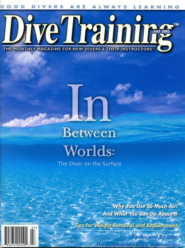 Scuba Diving | Dive Training Magazine, July 2005