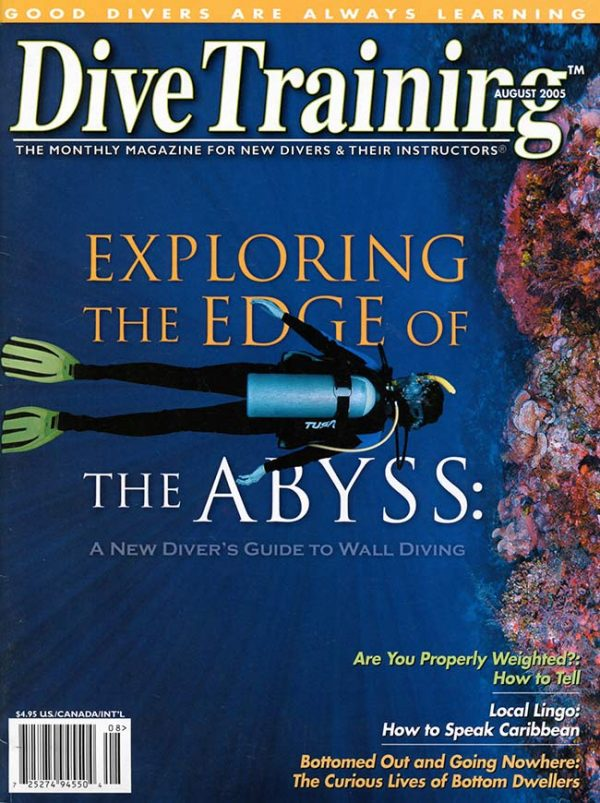 Scuba Diving | Dive Training Magazine, August 2005