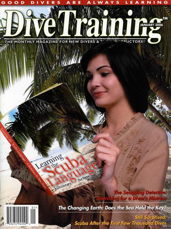 Scuba Diving | Dive Training Magazine, January 2006