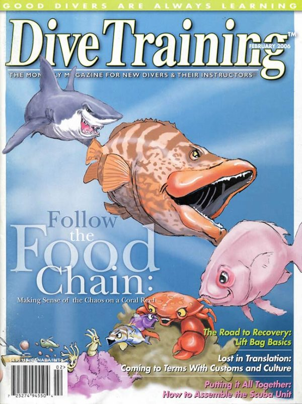 Scuba Diving | Dive Training Magazine, February 2006