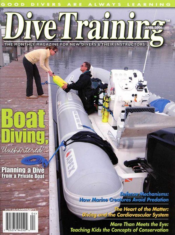 Scuba Diving | Dive Training Magazine, April 2006