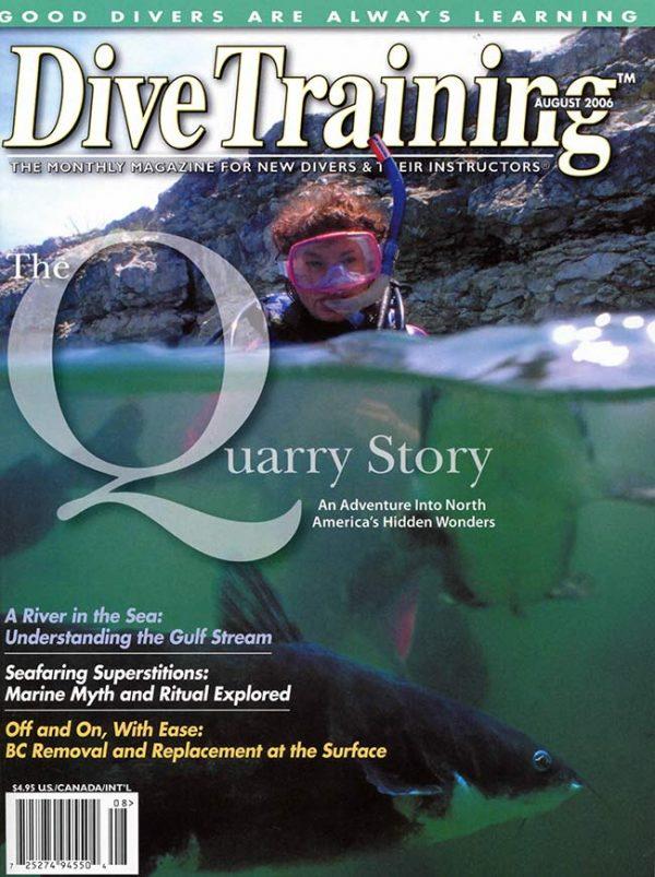 Scuba Diving | Dive Training Magazine, August 2006