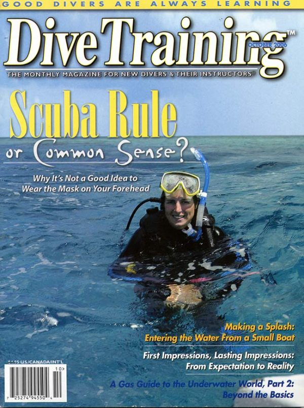 Scuba Diving | Dive Training Magazine, October 2006