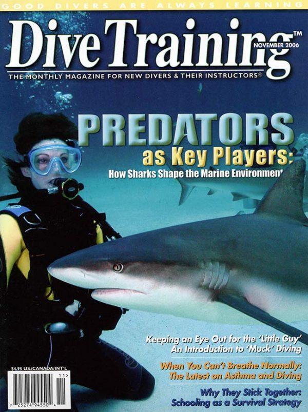 Scuba Diving | Dive Training Magazine, November 2006