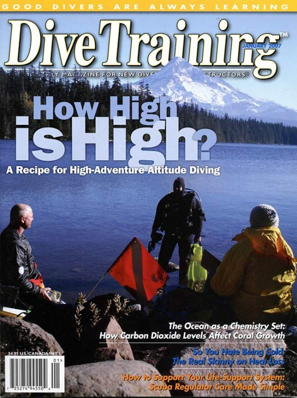 Scuba Diving | Dive Training Magazine, January 2007