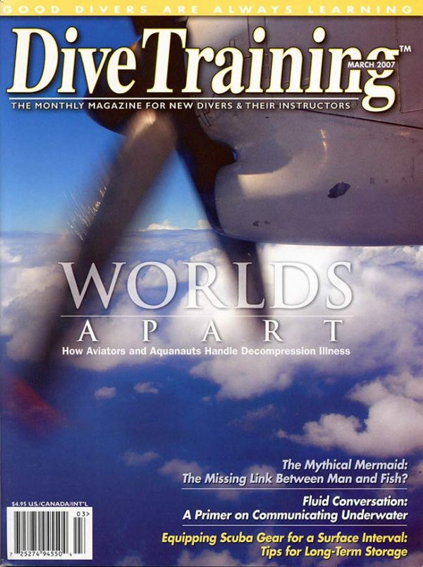 Scuba Diving | Dive Training Magazine, March 2007