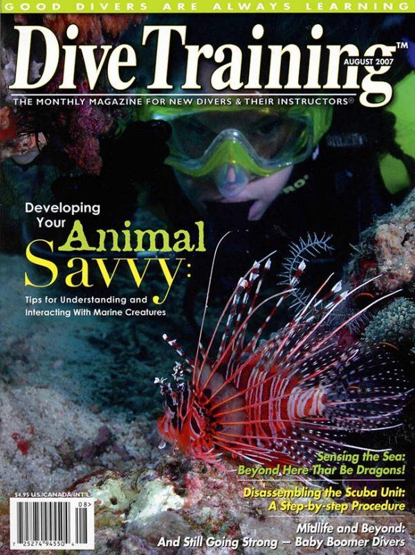Scuba Diving | Dive Training Magazine, August 2007