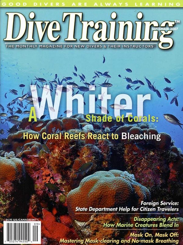 Scuba Diving | Dive Training Magazine, September 2007