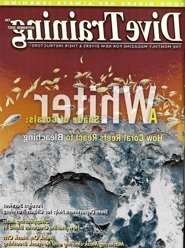 Scuba Diving   Dive Training Magazine, September 2007