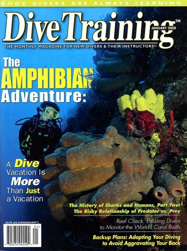 Scuba Diving | Dive Training Magazine, January 2008