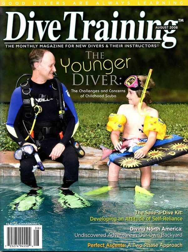 Scuba Diving | Dive Training Magazine, August 2008