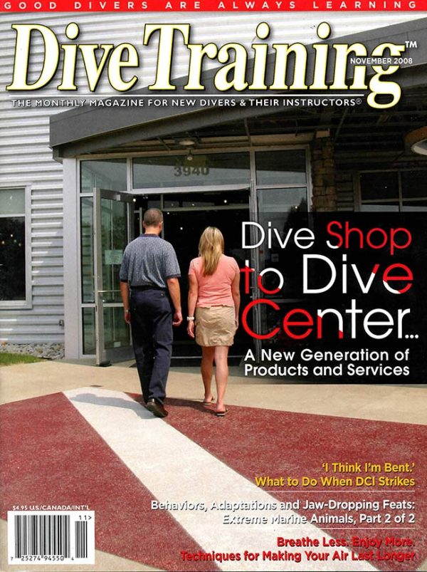 Scuba Diving | Dive Training Magazine, November 2008